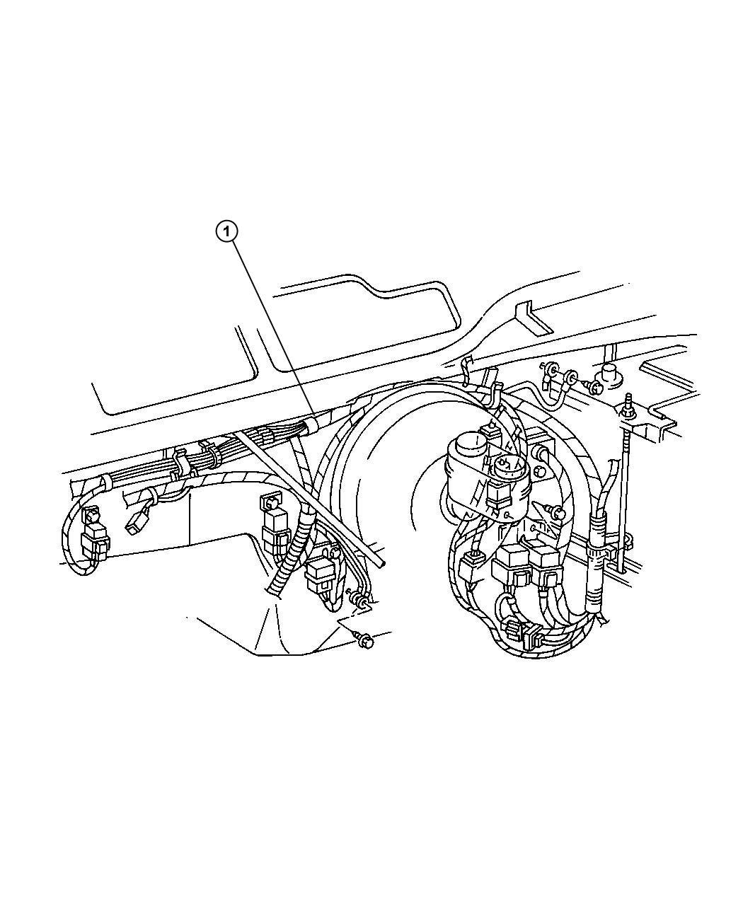 2002 Jeep Liberty Wiring, Headlamp / Dash