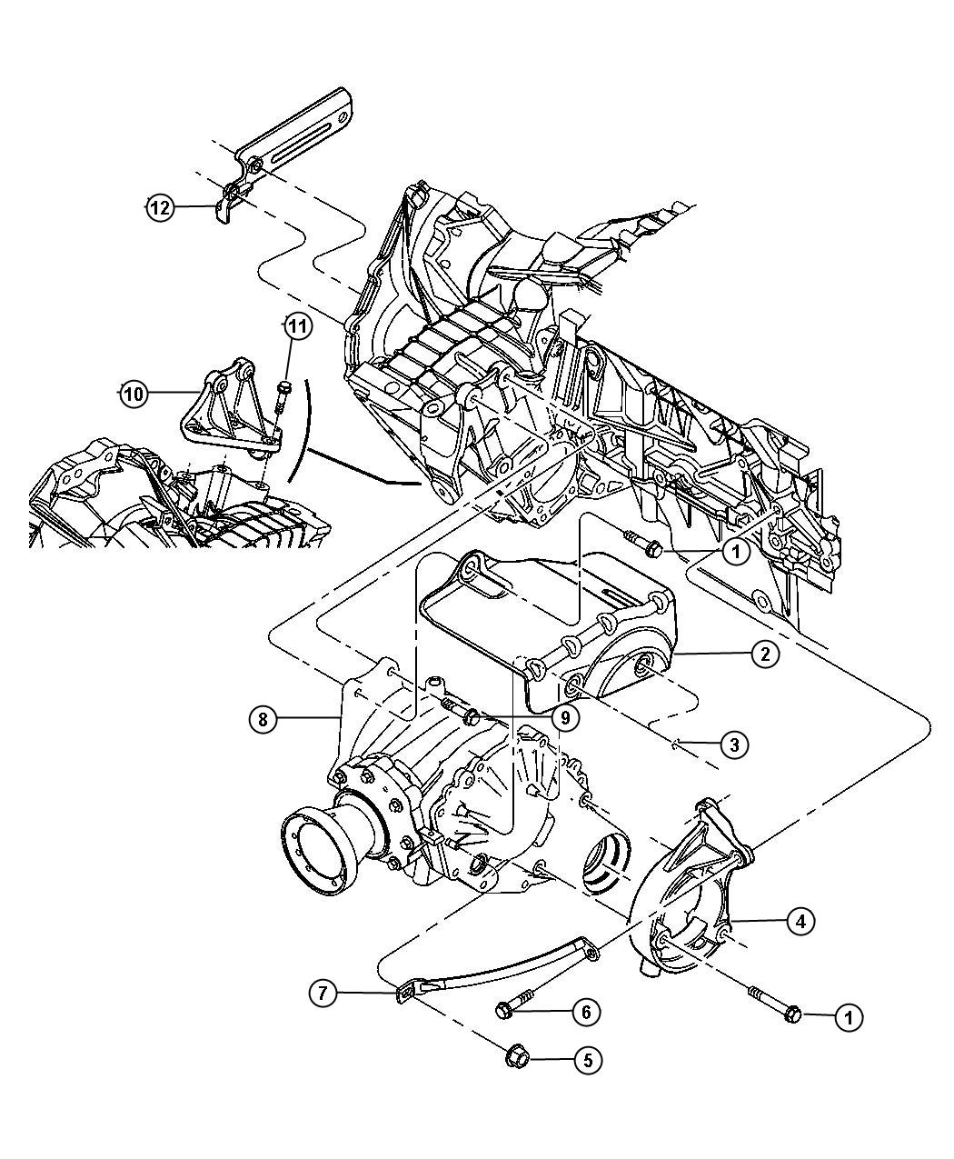 Chrysler Pacifica Motor Mount Diagram
