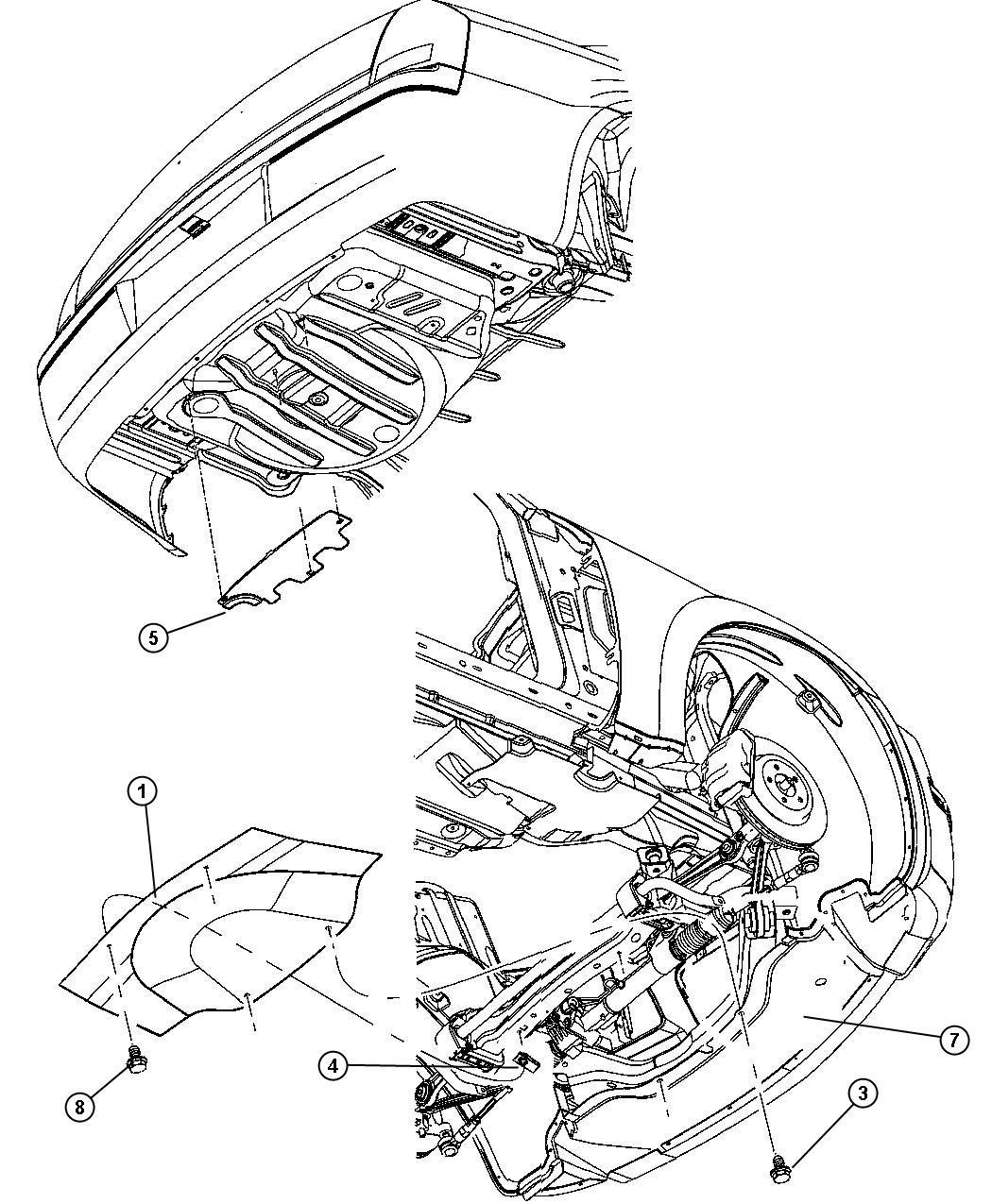 Chrysler 300 Underbody Shield