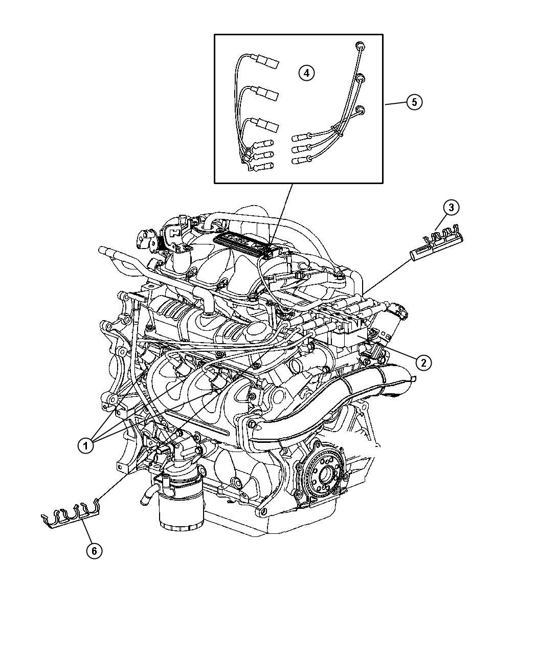 Service manual [Change Plugs In A 2005 Chrysler Pacifica