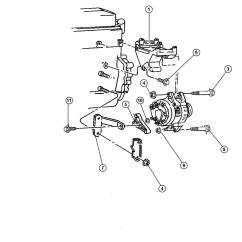 Dodge Dakota Alternator Wiring Diagram 1974 Fj40 1998 Mounting 4 Cylinder Engine