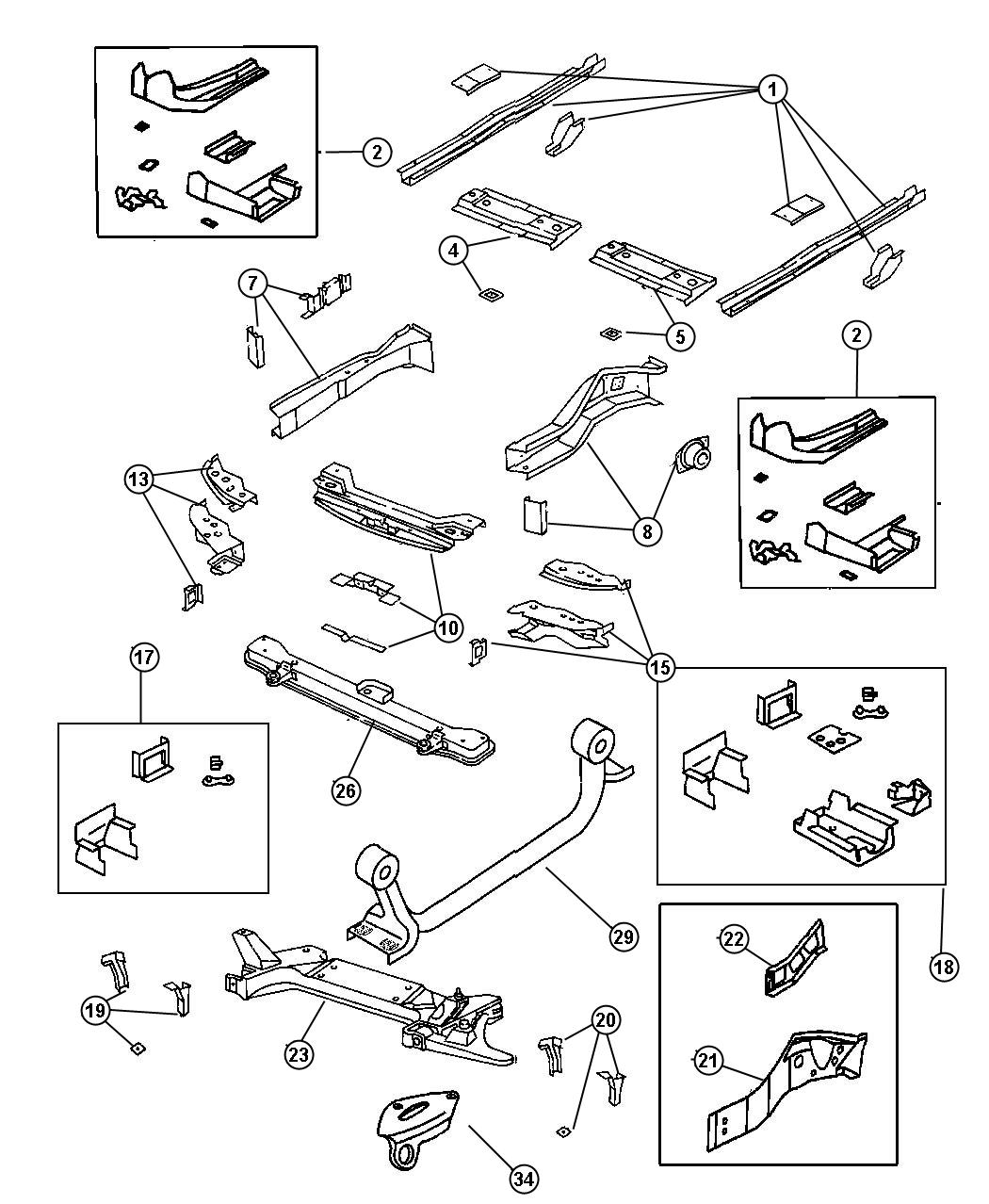 1999 Plymouth Breeze Front Suspension Diagram. Plymouth