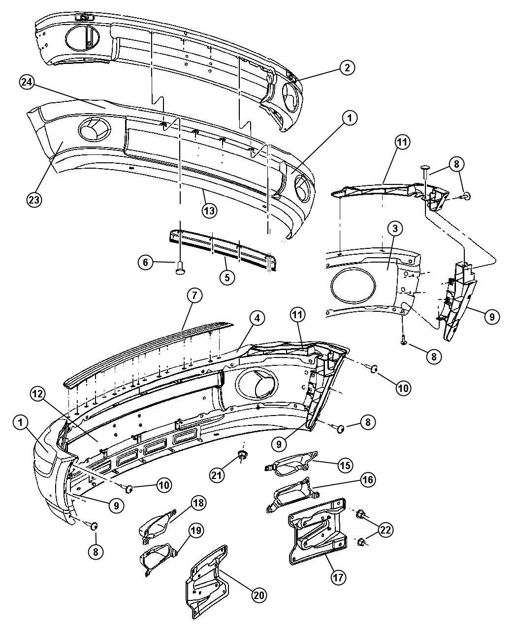 2005 chevy equinox suspension diagram create sequence visual studio gmc terrain front bumper parts imageresizertool com