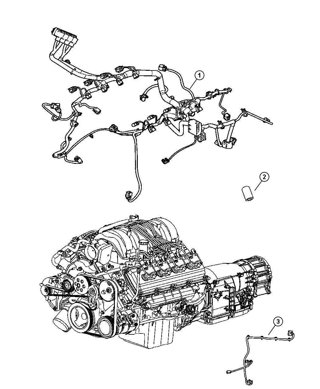 Wiring Engine 5 7l 6 1l Engines