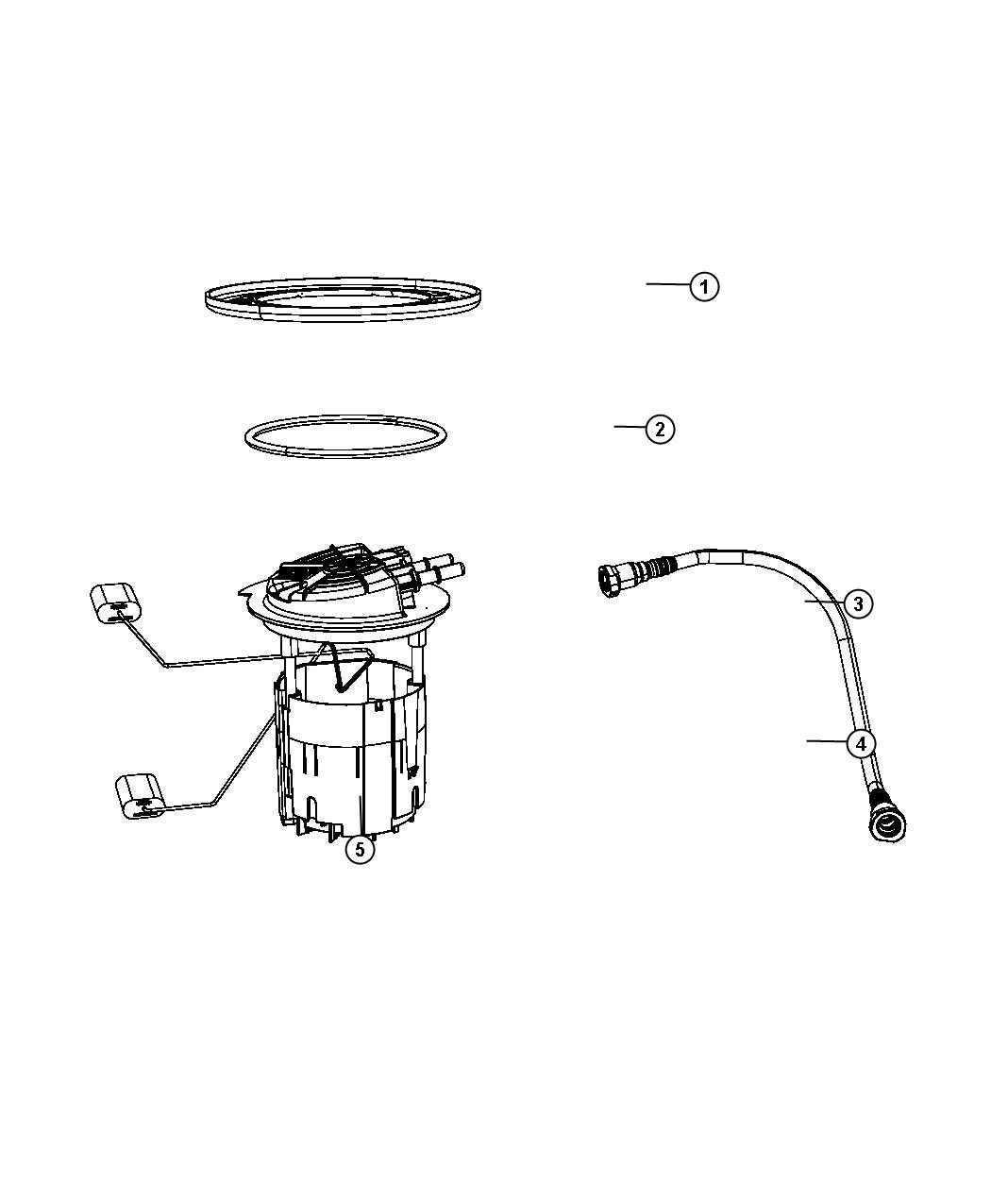 Dodge Journey Fuel Pump Module