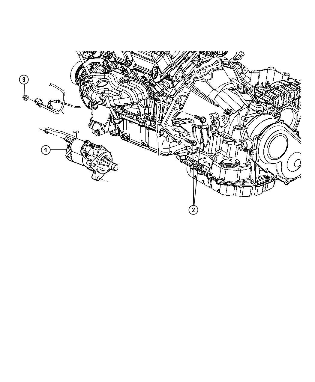 2012 Dodge Avenger Starter and Related Parts