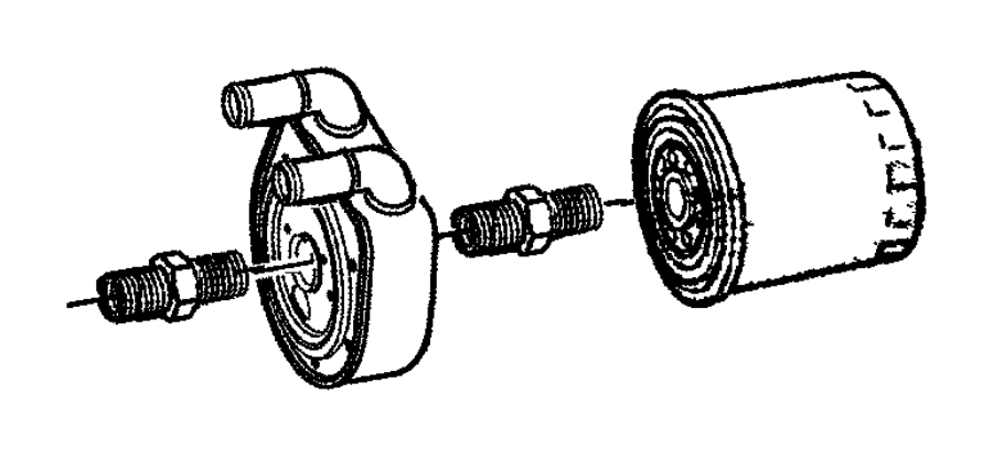 Dodge Engine Oiling 3.8L EGH Engine