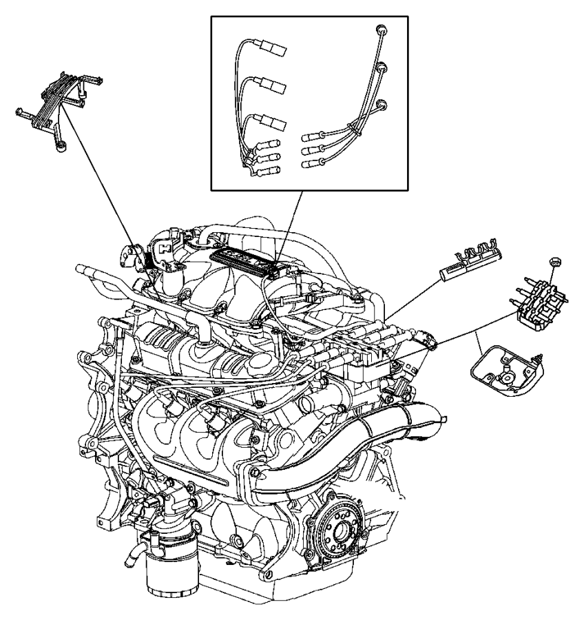 Spark Plugs, Ignition Wires and Ignition Coil