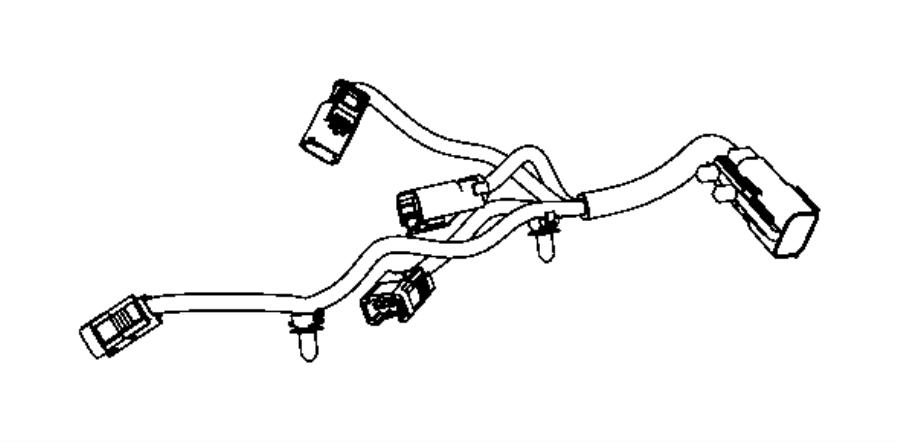 2013 Dodge Grand Caravan Wiring Engine Gas, 3.6 Engine [ERB]