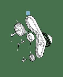 MOPAR Store Timing belt for Jeep Compass