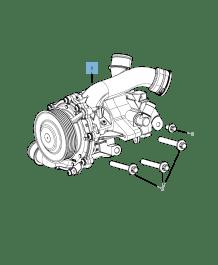 MOPAR Store Water pump for Jeep Compass/Patriot