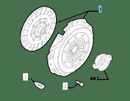 MOPAR Store Kit frizione (disco e spingidisco) per Alfa