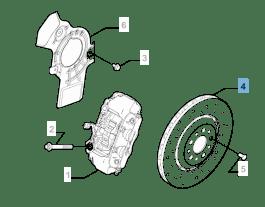 MOPAR Store Disco freno anteriore per Alfa Romeo 4C