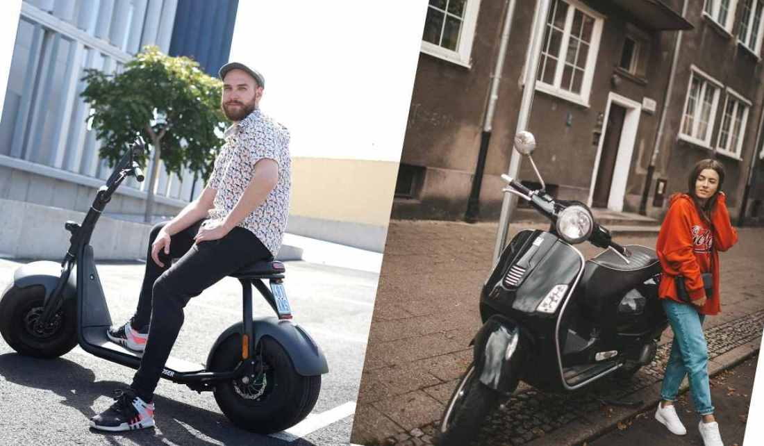 Diference Beetween Gas Scooter And Electric Scooter Copy