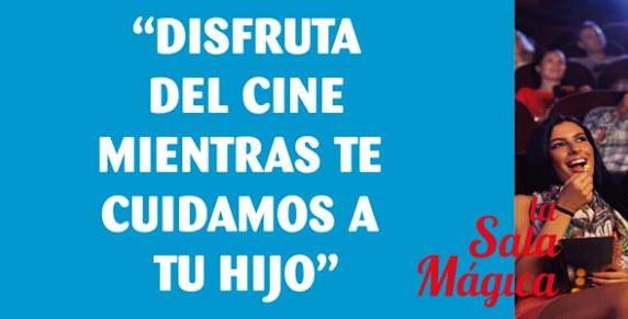 Los papis/mamis al cine y los niñ@s en Sala Mágica (Ocimax)