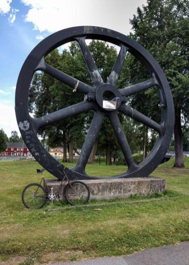 30 ton svänghjul i Storfors