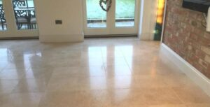 how to polish tile floors several