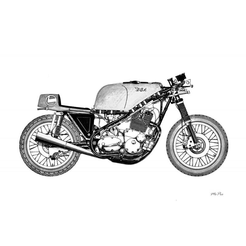 BSA Rocket 3 F750 Race Motorcycle