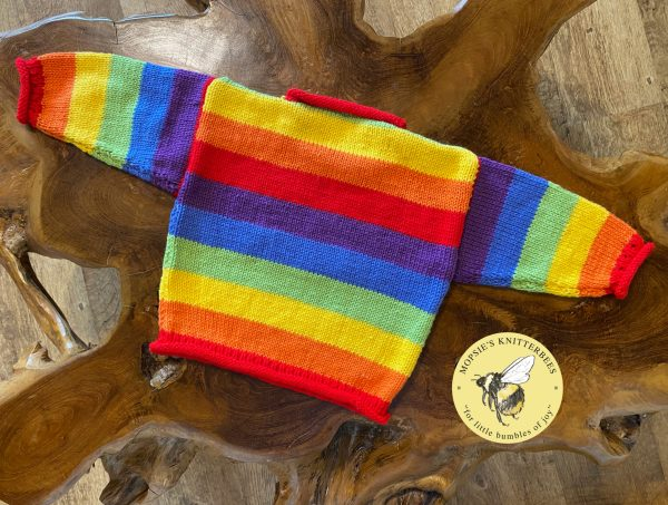 Rainbow Baby Jumpers back
