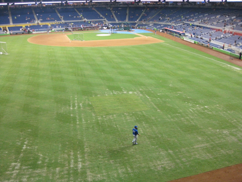 Marlins Park Review Mop Up Duty