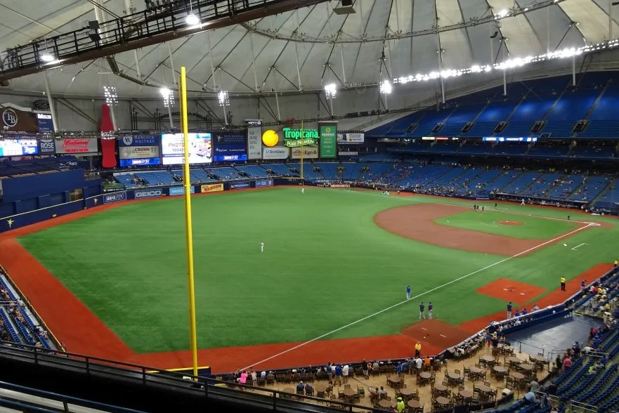 Tropicana Field Tampa Bay