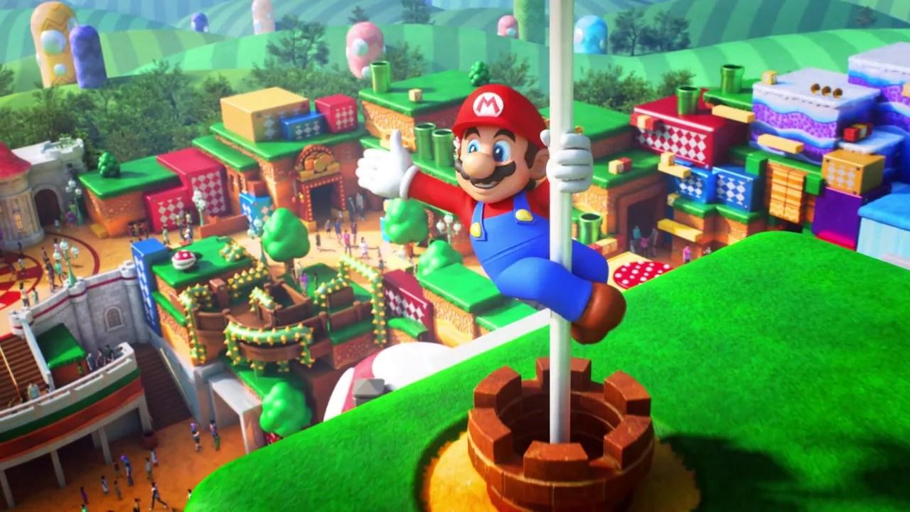 El esperado parque Super Nintendo World Japan se inaugurará a principios de 2021
