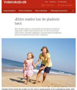 Artikel i Videnskab.dk