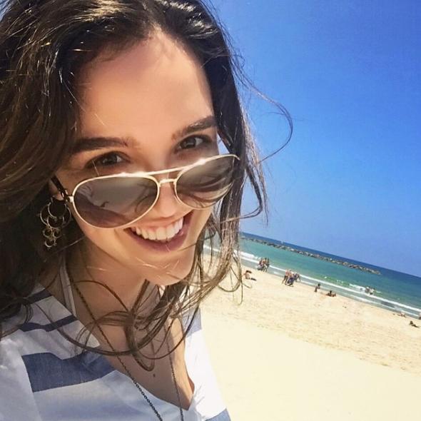Erin in Tel Aviv