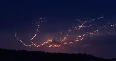 """Inumet advierte sobre tormentas """"puntualmente fuertes"""" entre lunes y martes"""