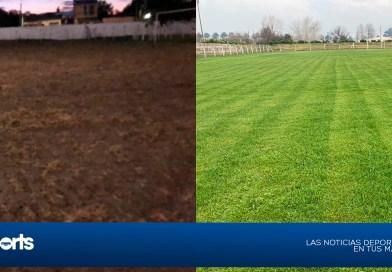 Las mejoras en el piso del Parque 19 de Abril ya son una realidad