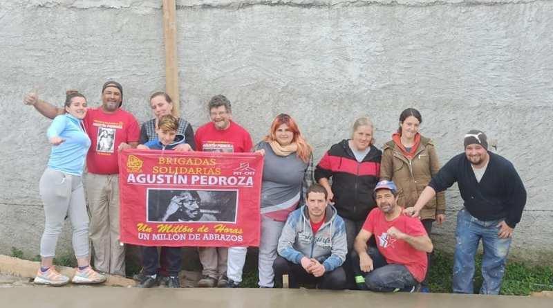 Brigada solidaria del Sunca, ayuda a familia que perdió todo en un incendio