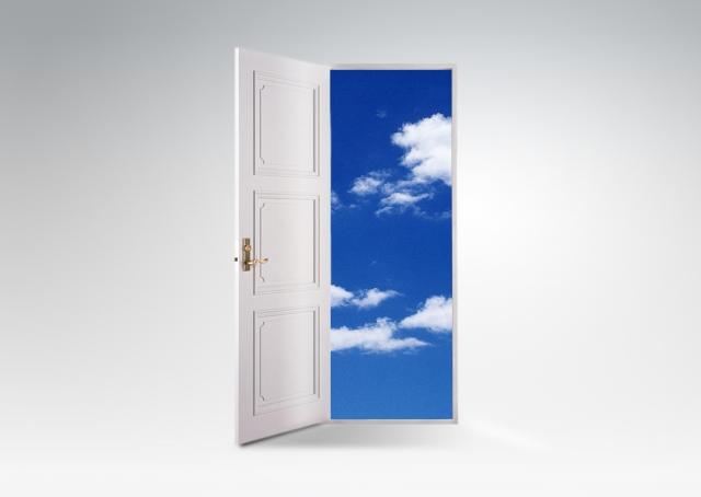 ドアの向こうに希望