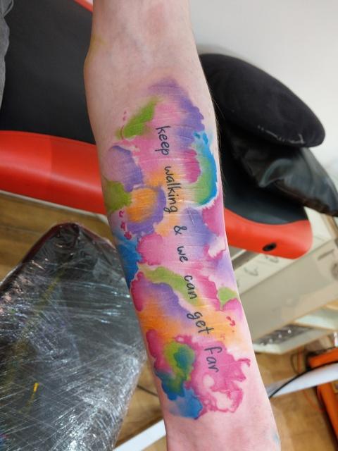 Tattoo To Cover Scars : tattoo, cover, scars, Cover, Tattoo, Morag, Sangster
