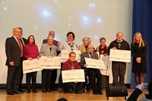 Die Gewinner des Essener Selbtshilfepreises 2012