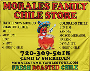 Morales Family Chile Store