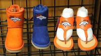 Broncos boots and sandals