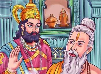 Renunciation Short Story - King and Sage Moral Stories to Learn abt Life