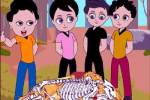Four Friends Story with Moral - Think Wisely Moral Stories for Kids in English