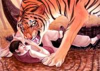 Korean Short Stories in English - Ungrateful Tiger Fable with Moral Lesson