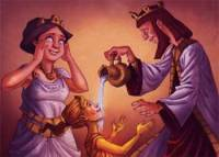Midas and Golden Touch - Classical Greek Mythology Short Moral Stories