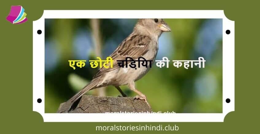 Hindi Inspirational Story Chidiya ki Kahani   एक छोटी चिड़िया की कहानी