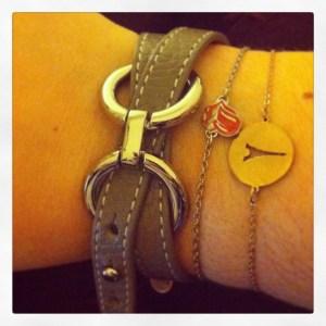 Bracelet gris