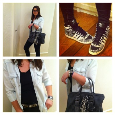 Look Zebre morandmors