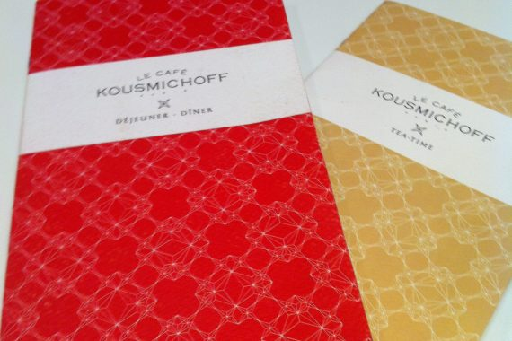 Le Café Kousmichoff : Café franco-russe de Kusmi Tea