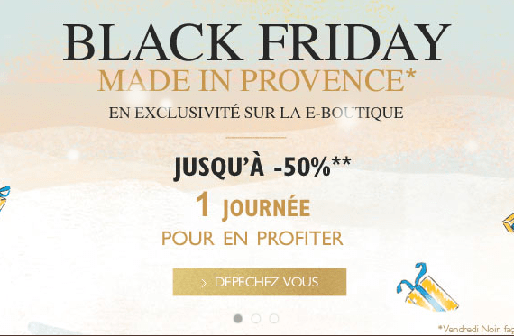 Black Friday : Craquage chez L'occitane