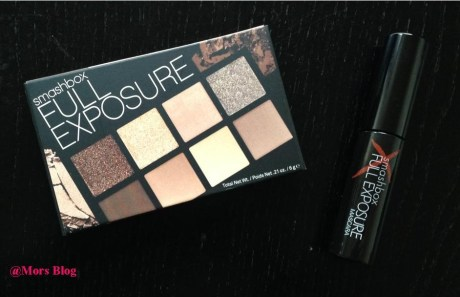 Smashbox full exposure fermée + mascara cadeau  Mors Blog
