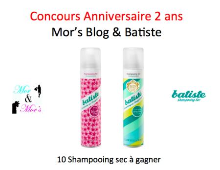Concours Mor's Blog Batiste