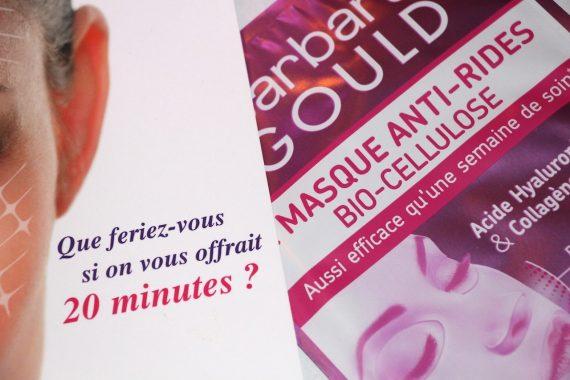 Mon masque anti-rides bio-cellulose by Barbara Gould + Concours