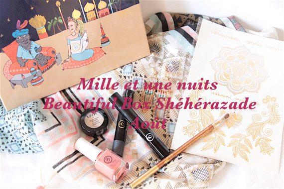 Mille et une nuits : Beautiful Box Shéhérazade d'Août