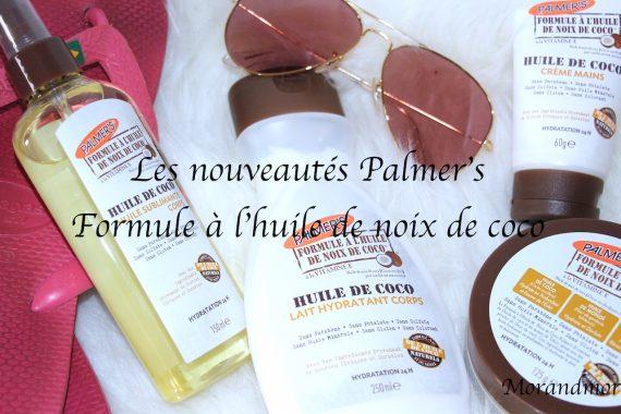 Les nouveautés Palmer's : Formule à l'huile de noix de coco